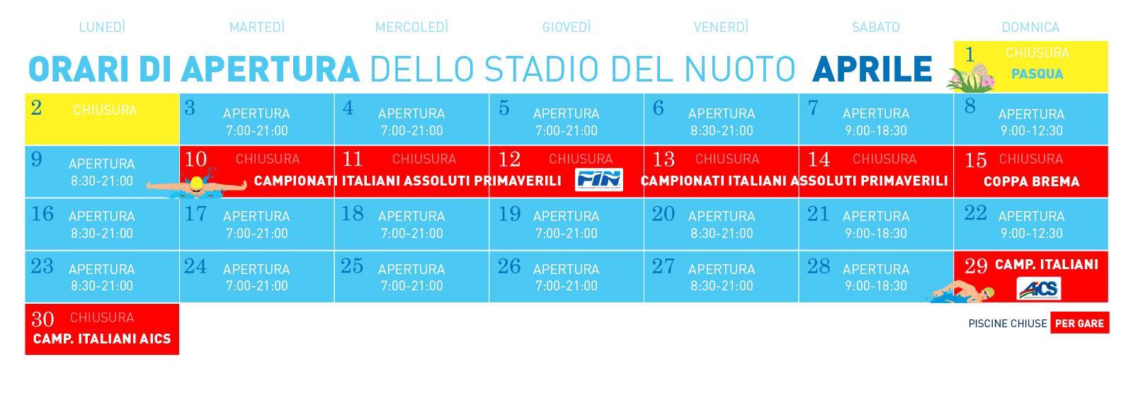 Fin Nuoto Calendario Gare.Polisportiva Riccione