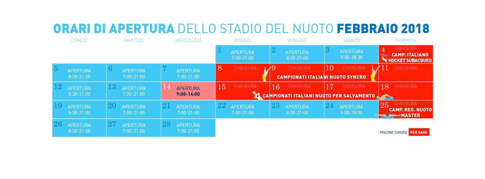 Fin Nuoto Calendario Gare.Stadio Del Nuoto Riccione