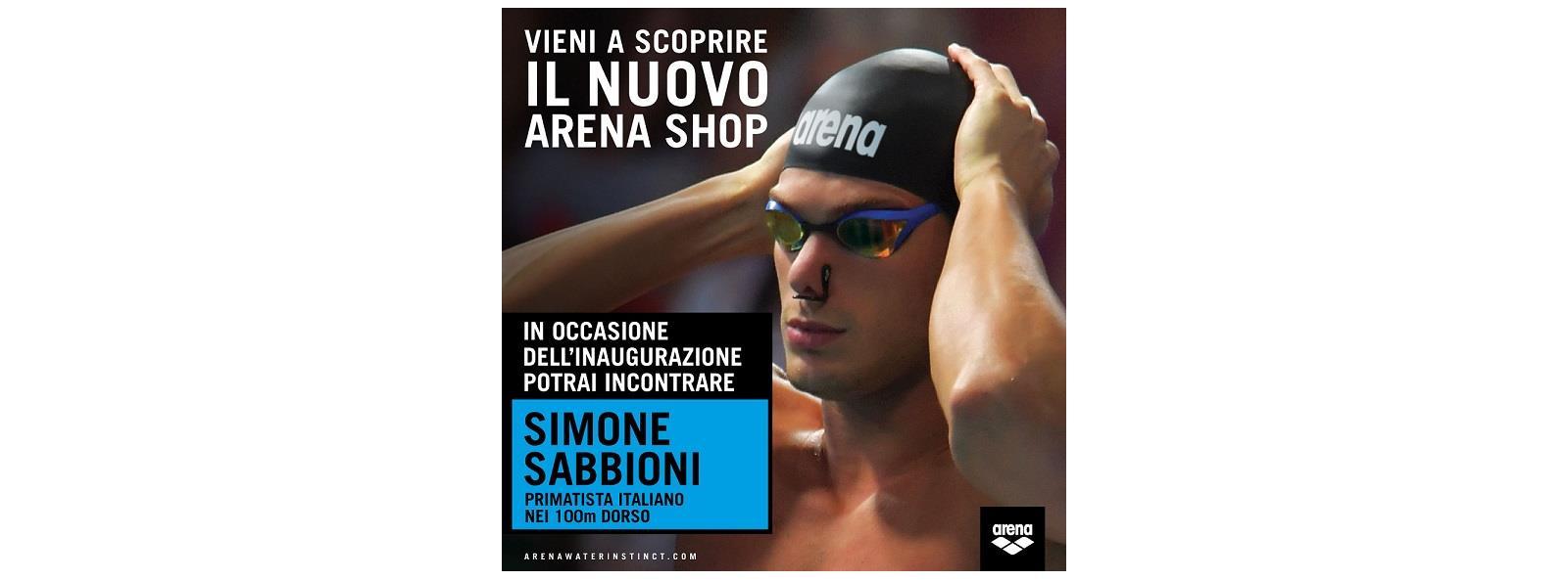 a3583ce3bf8a Ti aspettiamo all'inaugurazione del nuovo Arena Shop allo Stadio del nuoto  Riccione presso la Polisportiva Riccione !!! Special guest, il primatista  ...