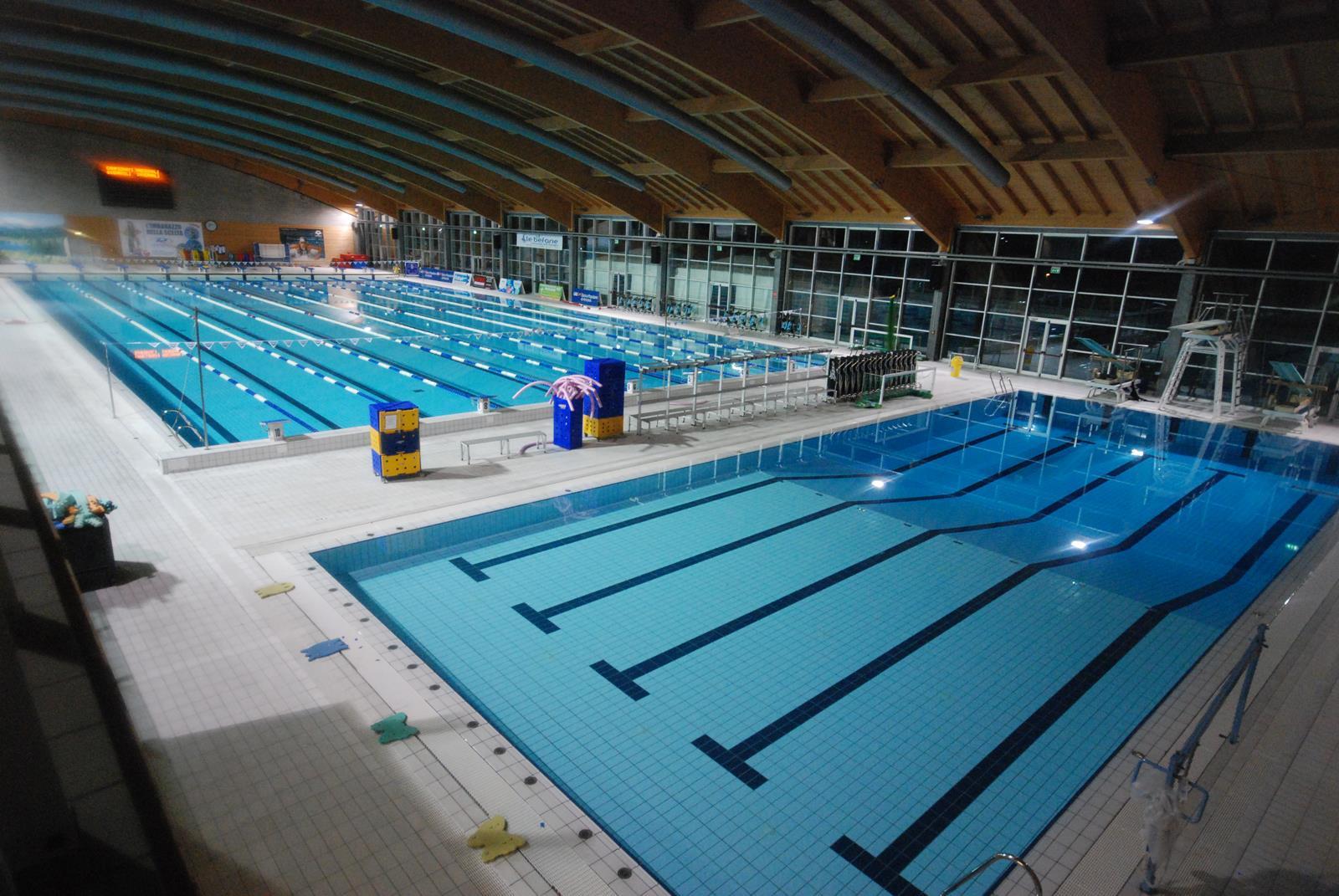Polisportiva riccione for Piano del sito piscina